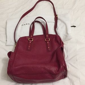 Marc by Marc Jacobs red leather bag